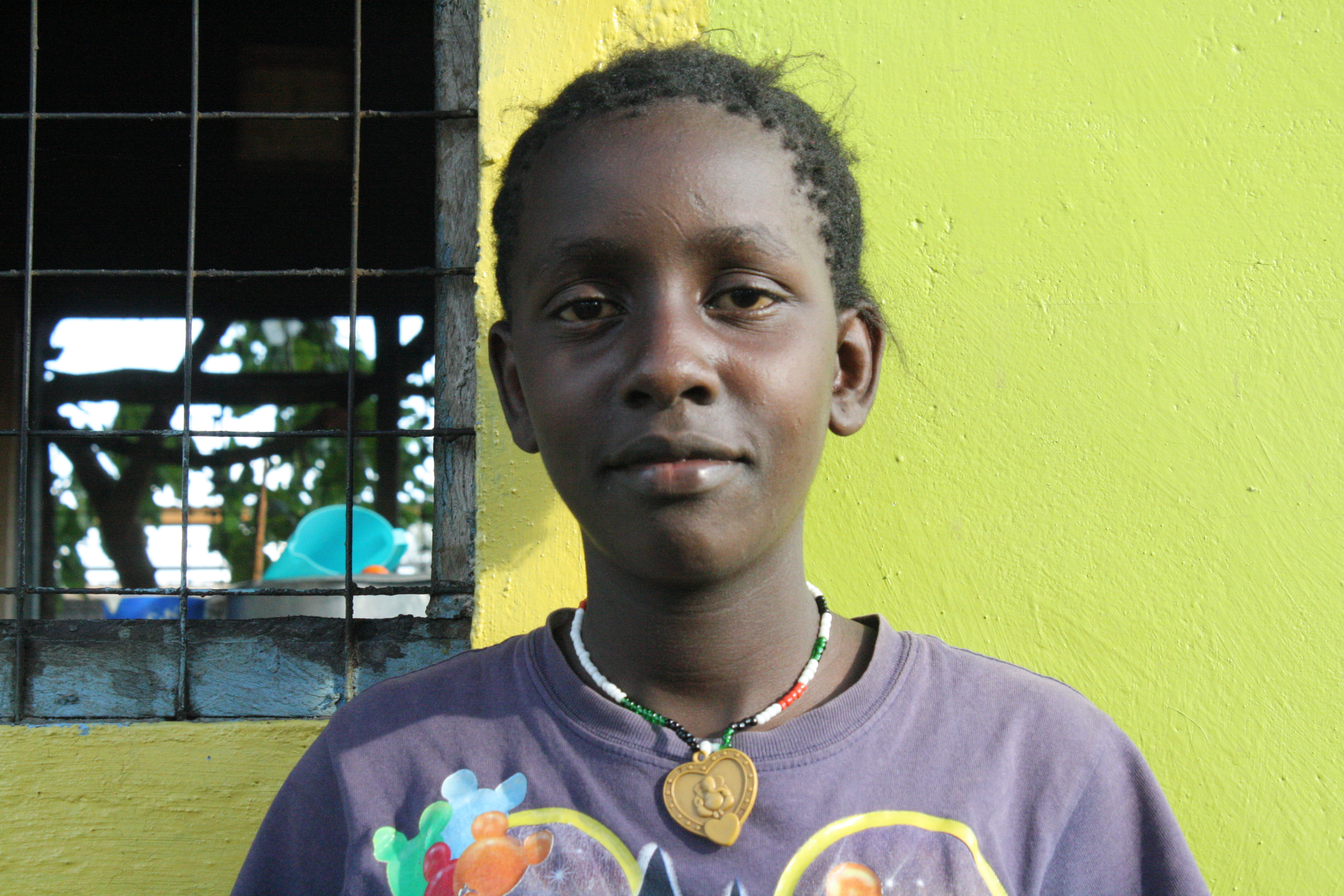 Esther Wambui 13years